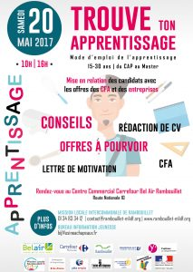 Flyer A6 - Trouve ton apprentissage