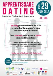 Flyer A5 - Apprentissage Dating
