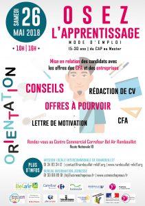 26 Mai 2018 Osez L Apprentissage Lieu De Rencontre Entre Cfa